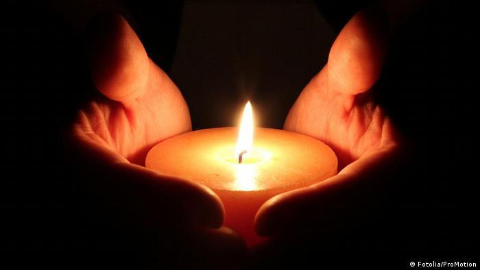 Foto de una candela