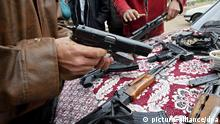 Symbolbild Waffenhandel
