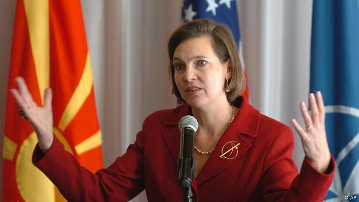 Victoria Nuland, adjunctul secretarului de stat de la Washington