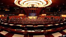 Straßburg Europarat Plenarsaal