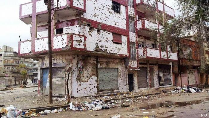 شهر حمص در سوریه مدتهاست که زیر آتش سنگین ارتش قرار دارد