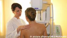 Symbolbild Brustkrebsvorsorge