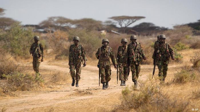 Somalia: Six Kenyan soldiers on patrol in Somalia