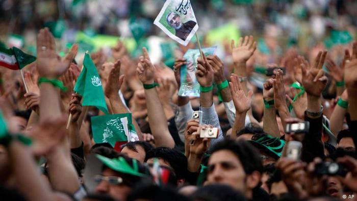 Dossierbild Iran EIn Jahr nach den Wahlen 2