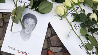 Picture of Sueleyman Taskoeprue, who was murdered by neo-Nazis in 2001