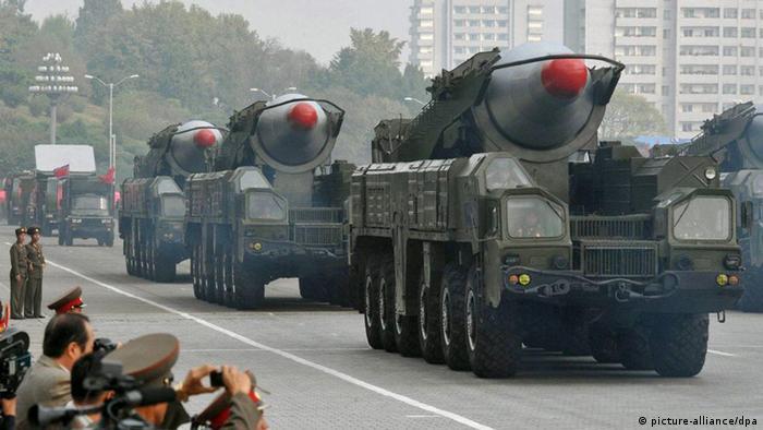 Ракети Мусудан на параді в Пхеньяні (архівне фото)