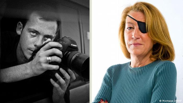 This is an undated image made available Wednesday Feb. 22, 2012 by the Sunday Times in London of journalist Marie Colvin. A French government spokeswoman on Wednesday identified two Western reporters killed in Syria as American war reporter Marie Colvin and French photojournalist Remi Ochlik . Colvin, from Oyster Bay, New York, had been a foreign correspondent for Britain's Sunday Times for two decades, reporting from the world's most dangerous places. She lost the sight in one eye in Sri Lanka in 2001 but did not let that deter her.