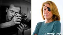 رمی اوشلیک و  ماری کولون دو خبرنگار کشته شده در سوریه
