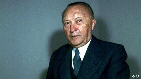 Adenauer in 1957