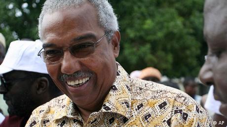 Guinea Bissau Afrika Henrique Rosa Präsidentschaftskandidat (AP)