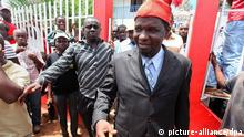 Kumba Yala, líderdo PRS. O partido critica a presidência da ANP