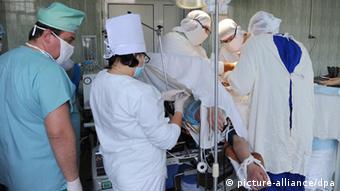 Операція у спецлікарні Донецька