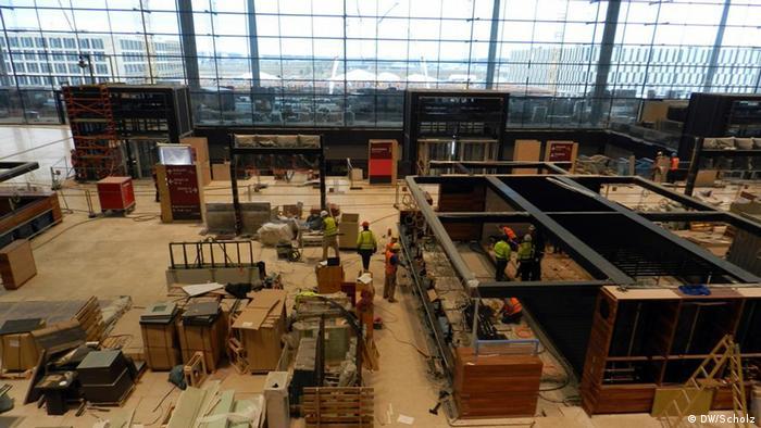 Gradilište novog aerodroma u Berlinu