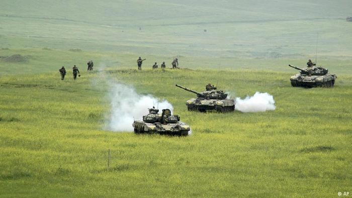 Soldados separatistas participan en ejercicios militares. La imagen data de abril de 2006.