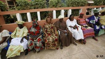 Guinea-Bissau Bissau Menschen in der Hauptstadt
