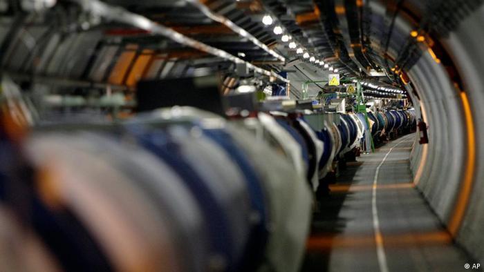 Teilchenbeschleuniger LHC am CERN (Foto: (AP Photo/Keystone, Martial Trezzini, File).