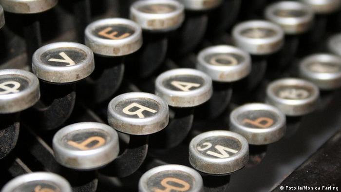 Kyrillisch Schreibmaschine Tasten (Fotolia/Monica Farling)