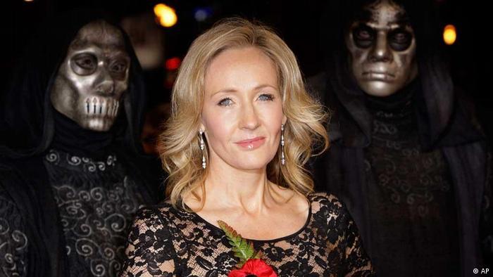 A photo of JK Rowling (AP)