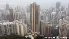 China Hongkong Panorama Rekordpreis für Luxus-Appartment
