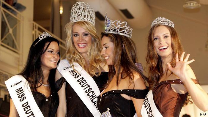 Deutsche Teilnehmerinnen von Misswahlen im Jahre 2006