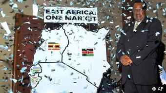 East African Community EAC Eriya Kategaya Ostafrikanische Gemeinschaft (AP)