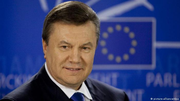 Ukraine Präsident Wiktor Janukowytsch Europa EU