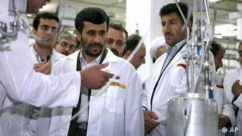 Iran Atomprogramm Mahmud Ahmadinedschad Natanz