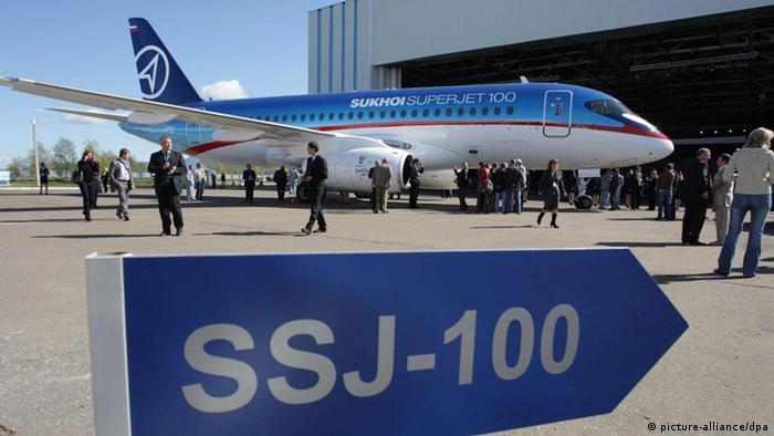 Пассажирский самолет Sukhoi Superjet-100 (фото из архива)