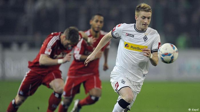 Bundesliga Borussia Mönchengladbach vs Hamburger SV Marco Reus