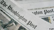 The Friday and Thursday editions of the Washington Post newspaper are seen in Washington, Friday, Aug. 3, 2007. The Washington Post Co. reported a 13 percent drop in quarterly earnings Friday, Aug. 3, 2007, as declining revenue from its flagship paper continued to outweigh gains in the company's education units. (AP Photo/Haraz N. Ghanbari)