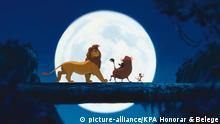 Filmszene aus dem Film The Lion King 1994