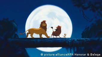 Filmszene aus dem Film The Lion King 1994
