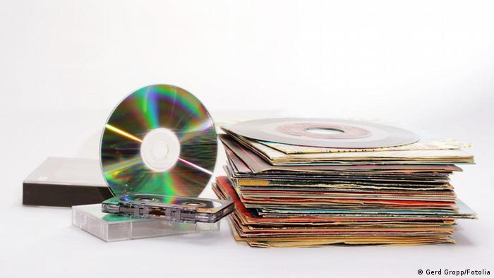 CD Schallplatten Musik Symbol (Gerd Gropp/Fotolia)
