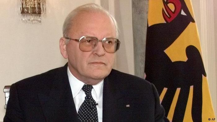 Portrait Alt-Bundespräsident Roman Herzog