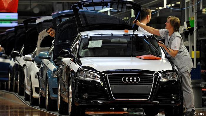 Audi, tvornica u Ingolstadtu