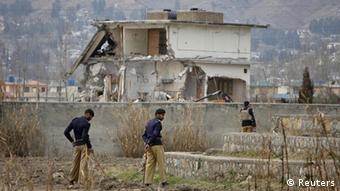 Bin Laden's residence in Abbottabad