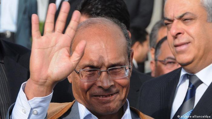 Tunesien Präsident Moncef Marzouki (picture-alliance/dpa)