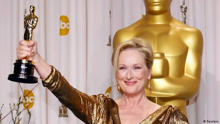 Oscar-Verleihung 2012 Meryl Streep