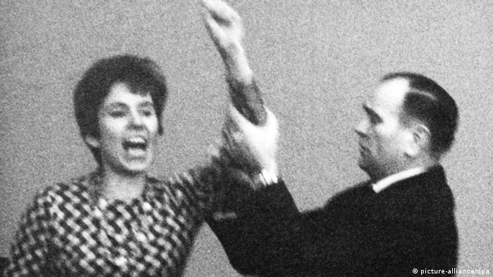 Beate Klarsfeld and Kiesinger