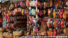 Marokko Händler Markt in Essaouira