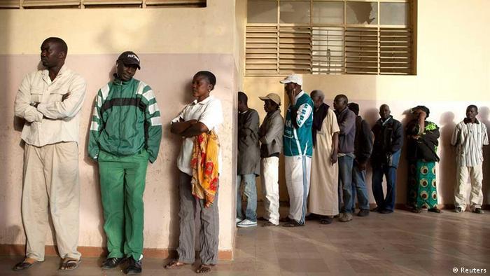 Senegal Wahlen 2012 Wahllokal