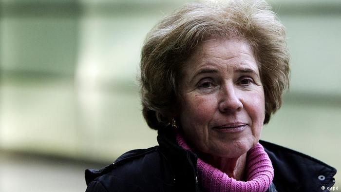 Porträt der deutsch-französischen Journalistin Beate Klarsfeld