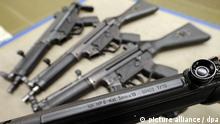 Submachine guns from Heckler & Koch (picture alliance / dpa)