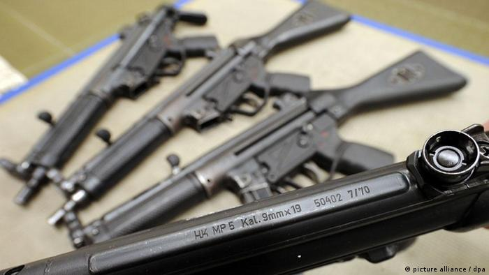 Submachine guns from Heckler & Koch