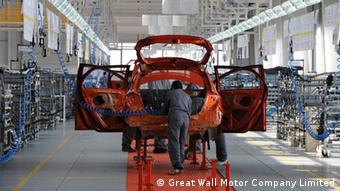 Great Wall Motors Auto Produktion in Lowetsch, Bulgarien