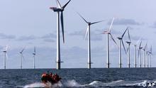 Dänemark Offshore Windpark Windenergie