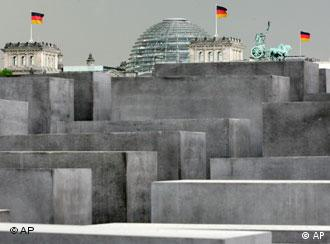 Berlin's memorial to the Holocaust was opened in May this year