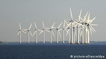 Dänemark Offshore Windpark Windenergie