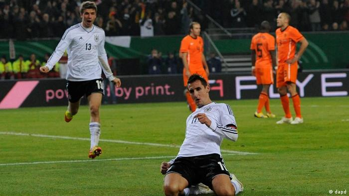 Germany takes on the Netherlands in soccer