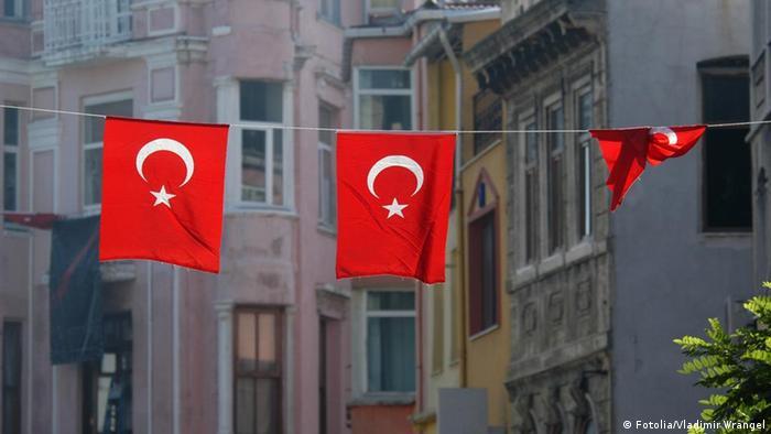 Symbolbild Türkei türkische Flagge